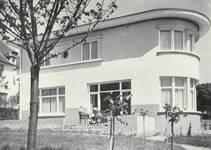 Avenue Jean et Pierre Carsoel 198, Uccle, villa Coene (© Dumont, Dumont & Van Goethem, Quelques travaux d'architecture, [1939], p. 46)