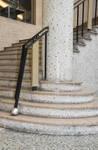 Galerie Ravenstein, Bruxelles, départ d'escalier dans la rotonde  (© ARCHistory, photo 2019)