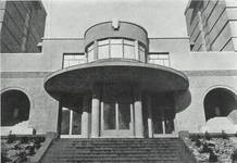 Avenue Paul Héger, Bruxelles Extension Sud, ULB - Bâtiment F1 - cité estudiantine Paul Héger (© La Revue Documentaire, 3, 1933, p. 35)