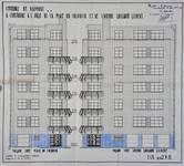 Square Solbosch 6, Ixelles, élévations, ACI/Urb. 158-131