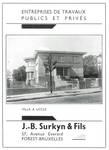Avenue Jean et Pierre Carsoel 198, Uccle, villa Coene (© Dumont, Dumont & Van Goethem, Quelques travaux d'architecture, [1939], page publicitaire)