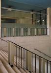Galerie Ravenstein, Bruxelles, escaliers vers la rotonde (© T. Verhofstadt, photo 2019)