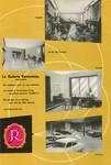 Galerie Ravenstein, Bruxelles, brochure de présentation de la galerie Ravenstein, 1957
