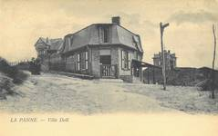 Thiriarweg 1, La Panne, Villa 'Doll' (© Collection cartes postales, Yves Dumont - ARCHYVES)