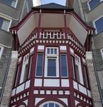 Zeedijk 55, La Panne, Villa 'Doudou' ou 'Titikot', dernier étage (© T. Verhofstadt, photo 2019)
