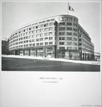 Rue Ravenstein 48-70 et Cantersteen 39-55, Bruxelles, Shell Building (© Dumont, Dumont & Van Goethem, Quelques travaux d'architecture, [1939], p. 26)