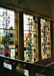 Grote Markt 1, Turnhout, hôtel de ville, vitraux aux excalier d'honneur (© T. Verhofstadt, photo 2001)