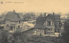 La Panne, le Quartier Dumont, groupe de villas dans les dunes (© Collection cartes postales, Yves Dumont - ARCHYVES)