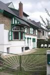 Hoge Duinenlaan 20, La Panne, Villa 'Régina', façade latérale avec son extension des années 1930 (© T. Verhofstadt, photo 2019)