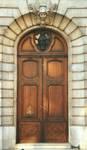 Chaussée de Vleurgat 193, Ixelles, entrée (© T. Verhofstadt, photo 2001)