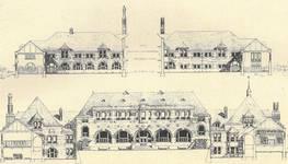 Chaussée de Tirlemont 85, Jodoigne, ancienne Ecole normale pour Jeunes Filles (© L'Emulation, 6, 1921, p. 94)