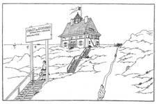 Dumontlaan 4, Koksijde, Villa 'Mieke Hill' (© Dumont, Dumont & Van Goethem, Quelques travaux d'architecture, [1939], p. 13)