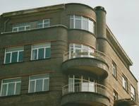 Solboschsquare 6, Elsene, hoogste bouwlagen (© T. Verhofstadt, foto 2001)