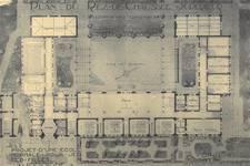 Chaussée de Tirlemont 85, Jodoigne, ancienne Ecole normale pour Jeunes Filles (© L'Emulation, 6, 1921, planche 11)