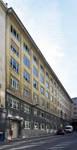 Rue Ravenstein 4, Bruxelles, siège de l'ancienne Fédération des Industries Belges - FIB, aujourd'hui FEB, façade rue des Sols (© ARCHistory, photo 2019)