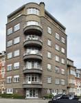 Square Solbosch 6, 1050 Ixelles. Immeuble à appartements construit selon un projet de 1935 (© urban.brussels).