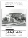 Avenue Jean et Pierre Carsoel 198, 1180 Uccle. La villa Coene vers 1938 in Dumont, Dumont & Van Goethem, <i>Quelques travaux d'architecture</i>, [1939], publicité.