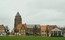 Parochiekerk Sint-Laurentius, Kemmel, vue de l'église depuis du Dries (© T. Verhofstadt, photo 2001)
